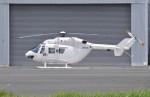 ヘリオスさんが、東京ヘリポートで撮影したディーエイチシー BK117B-2の航空フォト(写真)