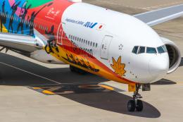 まくろすさんが、羽田空港で撮影した全日空 777-281/ERの航空フォト(飛行機 写真・画像)