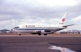 ハミングバードさんが、名古屋飛行場で撮影した中国国際航空 737-2T4/Advの航空フォト(飛行機 写真・画像)