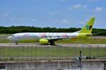 ちかぼーさんが、成田国際空港で撮影したジンエアー 737-86Nの航空フォト(写真)