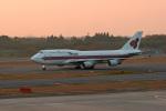 tsubameさんが、成田国際空港で撮影したタイ国際航空 747-4D7の航空フォト(写真)
