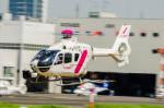 NCT310さんが、東京ヘリポートで撮影した東邦航空 EC135T2の航空フォト(写真)