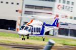 NCT310さんが、東京ヘリポートで撮影したオールニッポンヘリコプター AW139の航空フォト(写真)