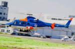 NCT310さんが、東京ヘリポートで撮影した朝日航洋 430の航空フォト(写真)