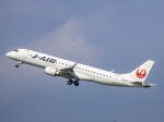 kikiさんが、羽田空港で撮影したジェイ・エア ERJ-190-100(ERJ-190STD)の航空フォト(写真)