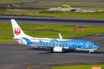 SGR RT 改さんが、羽田空港で撮影した日本トランスオーシャン航空 737-8Q3の航空フォト(写真)