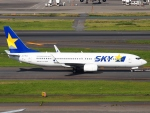FT51ANさんが、羽田空港で撮影したスカイマーク 737-8HXの航空フォト(写真)