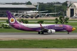 mototripさんが、ドンムアン空港で撮影したノックエア 737-88Lの航空フォト(飛行機 写真・画像)