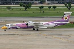 mototripさんが、ドンムアン空港で撮影したノックエア DHC-8-402Q Dash 8の航空フォト(飛行機 写真・画像)