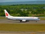 もっちゃこさんが、新千歳空港で撮影した中国国際航空 737-86Nの航空フォト(飛行機 写真・画像)
