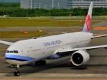 もっちゃこさんが、新千歳空港で撮影したチャイナエアライン 777-36N/ERの航空フォト(飛行機 写真・画像)