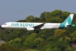 あしゅーさんが、福岡空港で撮影したエアソウル A321-231の航空フォト(写真)