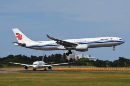 tassさんが、成田国際空港で撮影した中国国際航空 A330-343Xの航空フォト(写真)