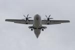 キイロイトリさんが、伊丹空港で撮影した天草エアライン ATR-42-600の航空フォト(写真)