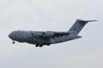 たまさんが、横田基地で撮影したアメリカ空軍 C-17A Globemaster IIIの航空フォト(写真)