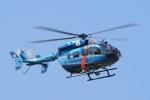飛行機ゆうちゃんさんが、成田国際空港で撮影した神奈川県警察 BK117C-2の航空フォト(写真)
