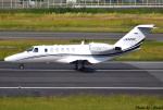 れんしさんが、福岡空港で撮影したオートパンサー 525A Citation CJ2の航空フォト(写真)
