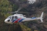 らむさんが、静岡ヘリポートで撮影したエアバス・ヘリコプターズ・ジャパン AS350B3 Ecureuilの航空フォト(写真)