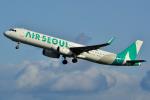 フリューゲルさんが、関西国際空港で撮影したエアソウル A321-231の航空フォト(写真)