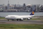 KAZFLYERさんが、羽田空港で撮影したルフトハンザドイツ航空 747-830の航空フォト(写真)