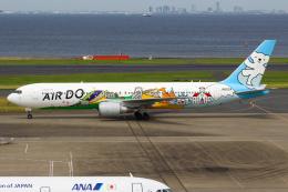 まくろすさんが、羽田空港で撮影したAIR DO 767-381の航空フォト(飛行機 写真・画像)