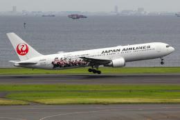 まくろすさんが、羽田空港で撮影した日本航空 767-346の航空フォト(飛行機 写真・画像)