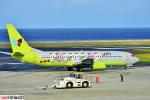 狭心症さんが、北九州空港で撮影したジンエアー 737-86Nの航空フォト(写真)