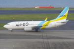 PASSENGERさんが、羽田空港で撮影したAIR DO 737-781の航空フォト(写真)