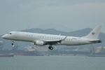 cassiopeiaさんが、香港国際空港で撮影したアメリカ個人所有 ERJ-190-100 ECJ (Lineage 1000)の航空フォト(写真)
