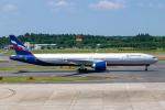 ぱん_くまさんが、成田国際空港で撮影したアエロフロート・ロシア航空 777-3M0/ERの航空フォト(写真)