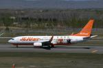 turenoアカクロさんが、新千歳空港で撮影したチェジュ航空 737-8ASの航空フォト(写真)