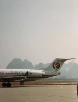 jjieさんが、桂林両江国際空港で撮影した中国東方航空 100の航空フォト(飛行機 写真・画像)