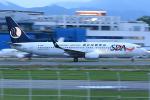 板付蒲鉾さんが、福岡空港で撮影した山東航空 737-85Nの航空フォト(写真)
