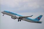 まーちらぴっどさんが、成田国際空港で撮影した大韓航空 A220-300 (BD-500-1A11)の航空フォト(写真)