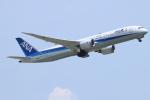 ceskykrumlovさんが、成田国際空港で撮影した全日空 787-9の航空フォト(写真)