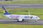 betaさんが、羽田空港で撮影したスカイマーク 737-8HXの航空フォト(写真)