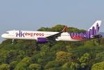 あしゅーさんが、福岡空港で撮影した香港エクスプレス A321-231の航空フォト(写真)