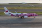 かずまっくすさんが、中部国際空港で撮影した日本トランスオーシャン航空 737-8Q3の航空フォト(写真)