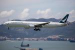 チャッピー・シミズさんが、香港国際空港で撮影したキャセイパシフィック航空 777-367の航空フォト(写真)