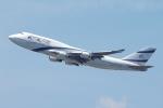 zettaishinさんが、ジョン・F・ケネディ国際空港で撮影したエル・アル航空 747-458の航空フォト(写真)