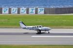 mild lifeさんが、神戸空港で撮影した学校法人ヒラタ学園 航空事業本部 Baron G58の航空フォト(写真)