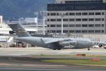 516105さんが、伊丹空港で撮影したアメリカ空軍 C-17A Globemaster IIIの航空フォト(写真)