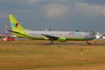 ITM58さんが、福岡空港で撮影したジンエアー 737-86Nの航空フォト(写真)