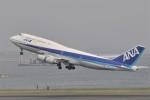 kumagorouさんが、羽田空港で撮影した全日空 747-481(D)の航空フォト(写真)