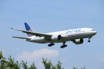 ceskykrumlovさんが、成田国際空港で撮影したユナイテッド航空 777-224/ERの航空フォト(写真)