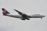 350JMさんが、羽田空港で撮影したルフトハンザドイツ航空 747-830の航空フォト(写真)