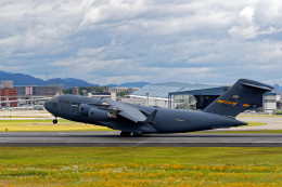 latchさんが、伊丹空港で撮影したアメリカ空軍 C-17A Globemaster IIIの航空フォト(写真)