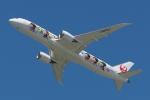 木人さんが、成田国際空港で撮影した日本航空 787-9の航空フォト(写真)
