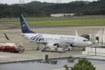 ピーチさんが、岡山空港で撮影した大韓航空 737-8B5の航空フォト(写真)