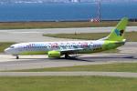 徳兵衛さんが、関西国際空港で撮影したジンエアー 737-86Nの航空フォト(写真)